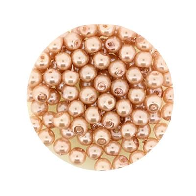 Pearl Renaissance, 4mm, 100 Stück, beige