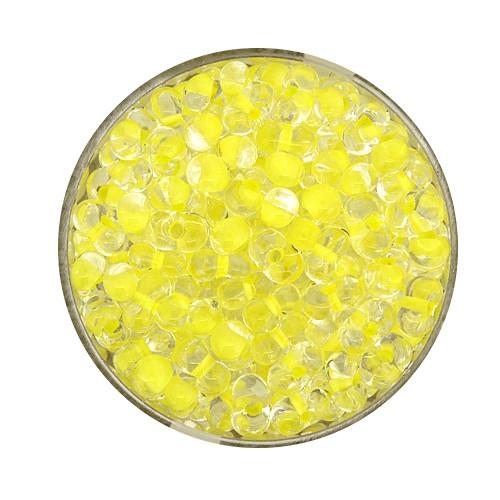 Farfalle, Farbeinzug glanz, 6,5 mm, 17gr Dose, kristall-gelb