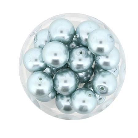 Pearl Renaissance, 10mm, 20 Stück, türkis