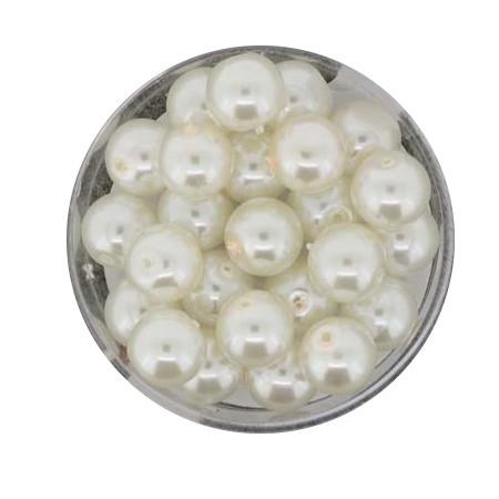 Pearl Renaissance, 8mm, 25 Stück, weiß