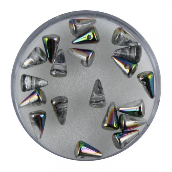 Spike Beads,5x8mm,20 Stück, vitrail