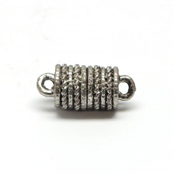 Magnetverschluss, 8x12 mm, altsilber