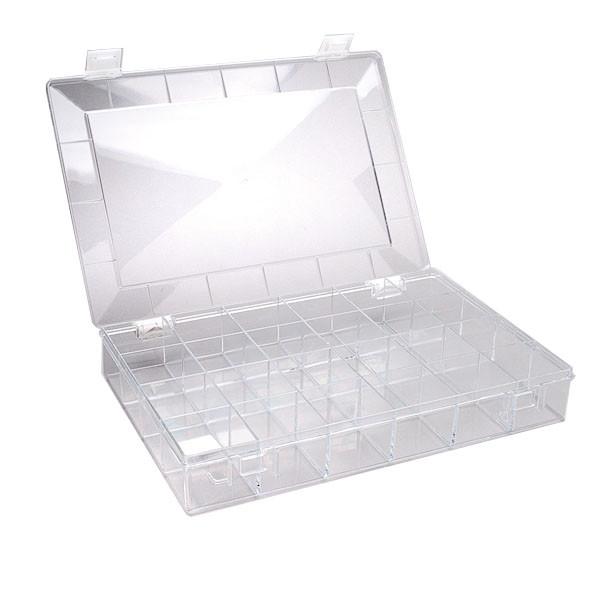Perlenbox, 24-Fächer