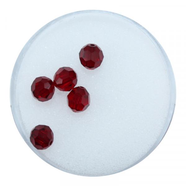 Swarovski Glasperlen, 6 mm, 5 Stück,siam