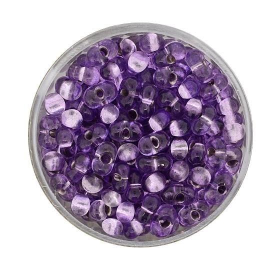 Farfalle, Silbereinzug, 6,5mm, 17gr Dose, violett