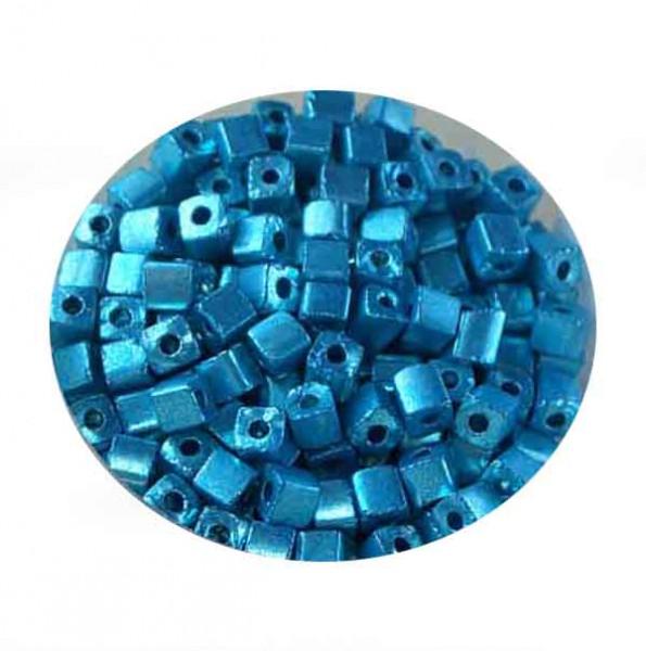 Glaswürfel Metallic