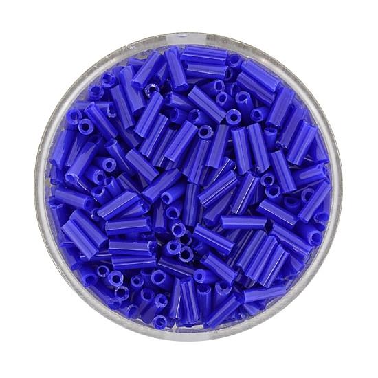 Glasstift, Satt, 6 mm, 17gr. Dose, dunkelblau