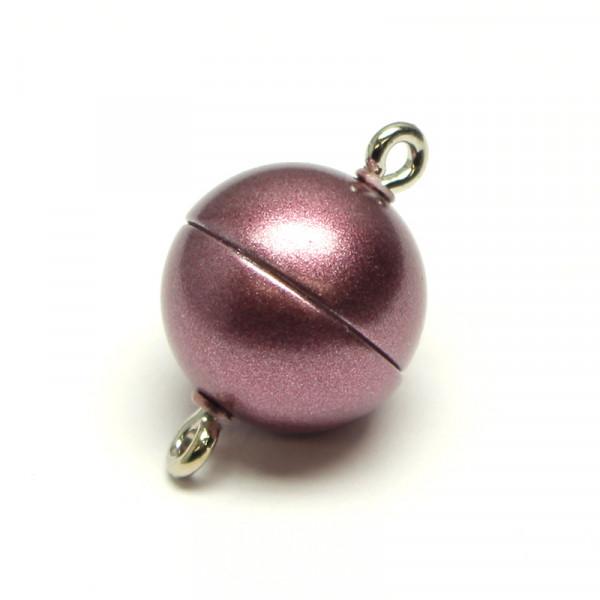 Magnetverschluss, 10mm, lila