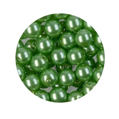 Pearl Renaissance, 6mm, 55 Stück, mai grün