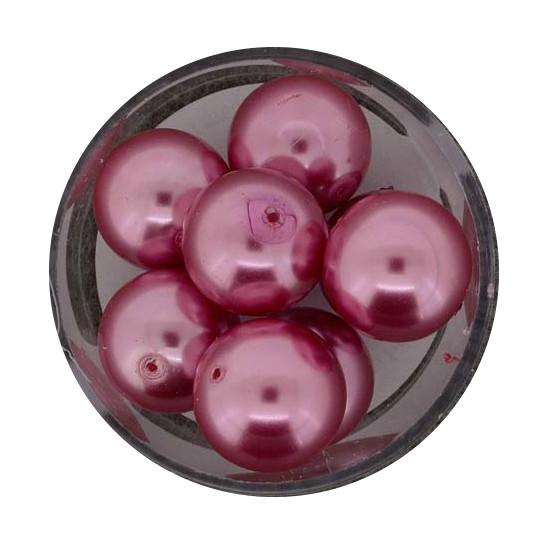 Pearl Renaissance, 14mm, 8 Stück, rosa