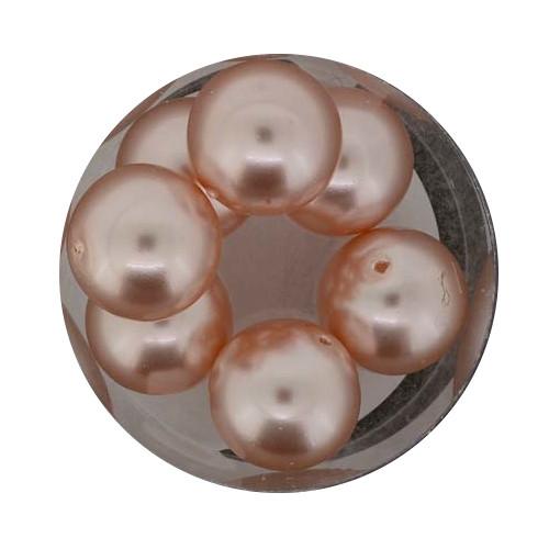 Pearl Renaissance, 14mm, 8 Stück, altrosa