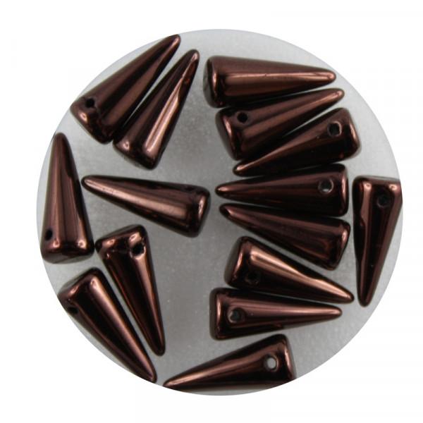 Spike Beads,5x13mm,15 Stück,kupfer