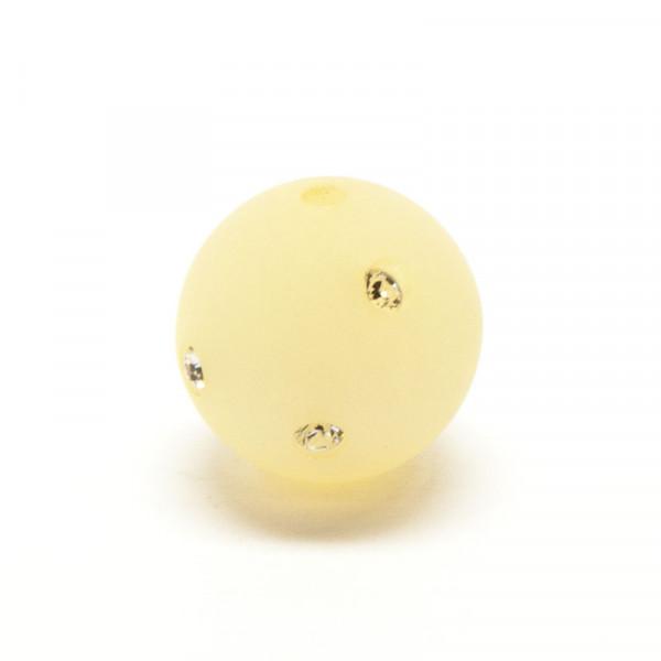 Polaris Strassperlen, 10mm, beige