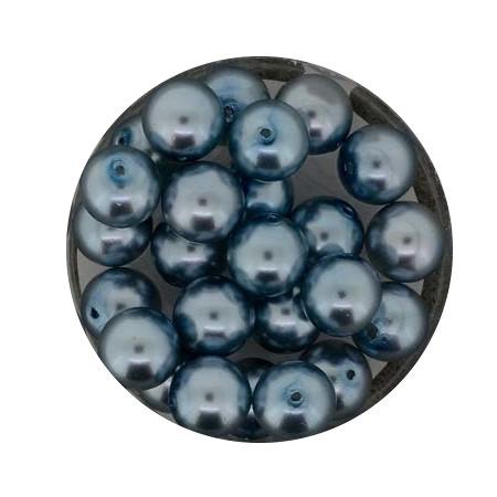 Pearl Renaissance, 8mm, 25 Stück, hellblau