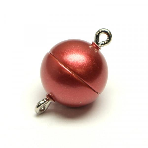 Magnetverschluss, 10mm, rot