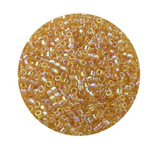 Miyuki Delicas, 11/0 (2,0mm), 9gr. Dose,pearl yellow