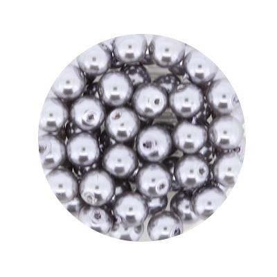 Pearl Renaissance, 6mm, 55 Stück, dunkelgrau