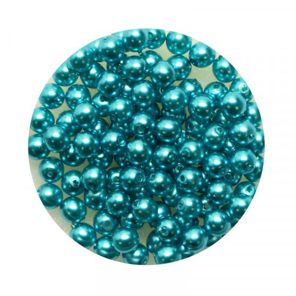 Pearl Renaissance, 4mm, 100 Stück, karibikblau