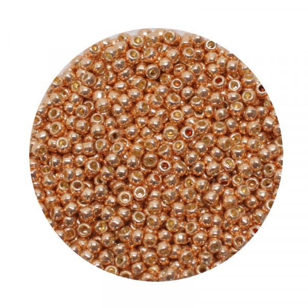 Toho-Beads, 9gr. Dose,kupfer
