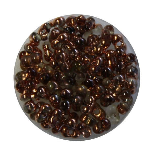 Farfalle, Metallic, 6,5mm, 8gr Dose, kupfer-kristall