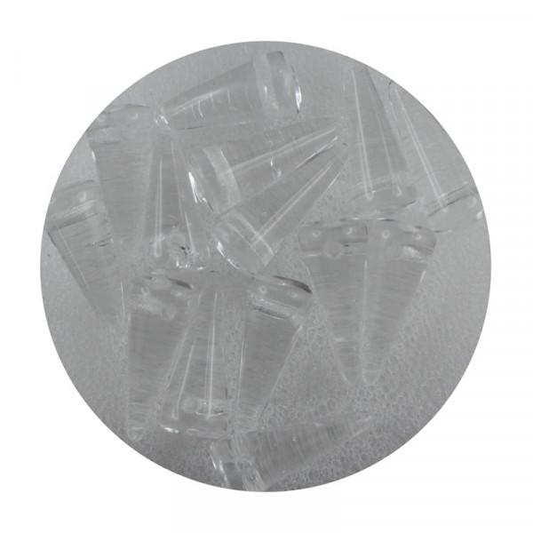 Spike Beads,5x13mm,15 Stück,kristall