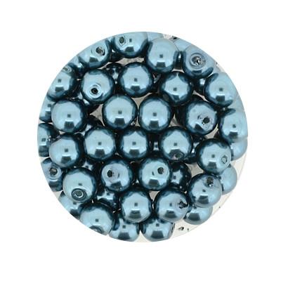 Pearl Renaissance, 6mm, 55 Stück, erinite grün
