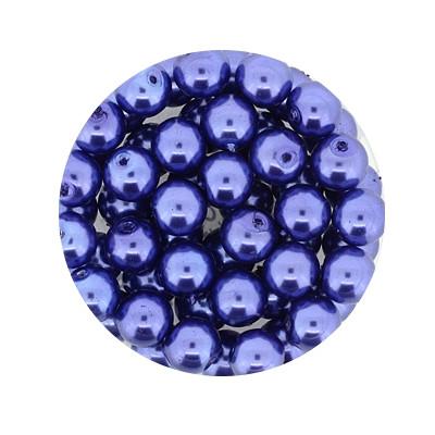 Pearl Renaissance, 6mm, 55 Stück, graublau