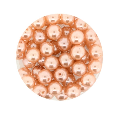 Pearl Renaissance, 6mm, 55 Stück, apricot