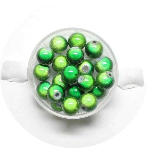 Miracle-Beads Glasperlen, 20 Stck., 8mm, grün