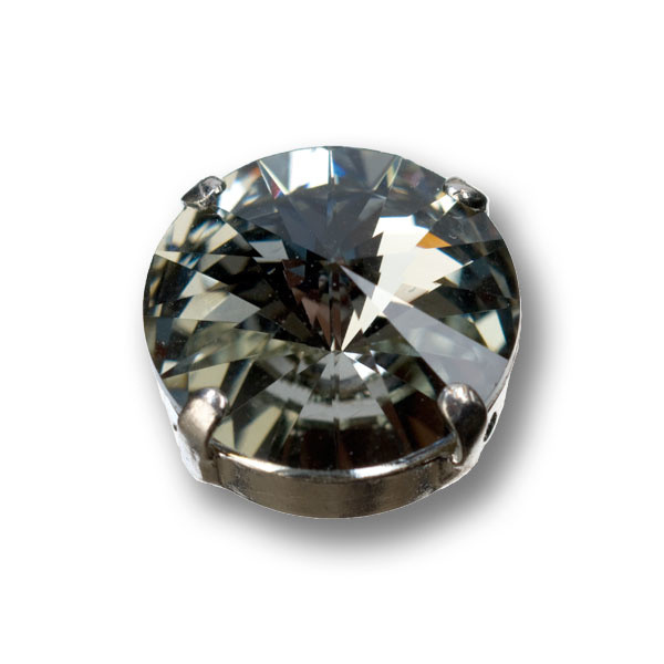 Swarovski Rivoli, 14 mm, black diamond