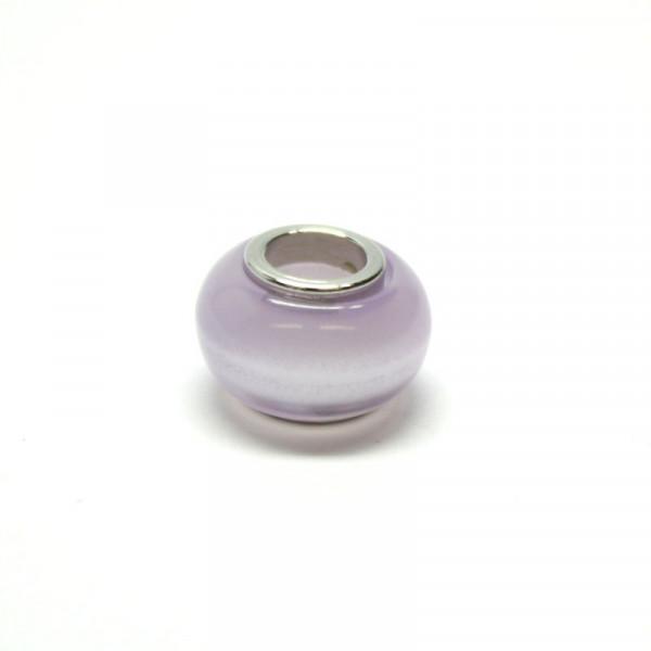 Polaris Großlochperlen, 8x12mm, violet