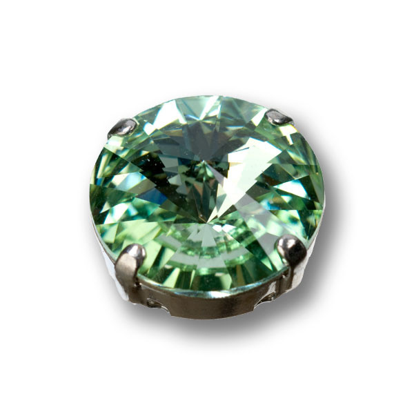 Swarovski Rivoli, 14 mm, chrysolite