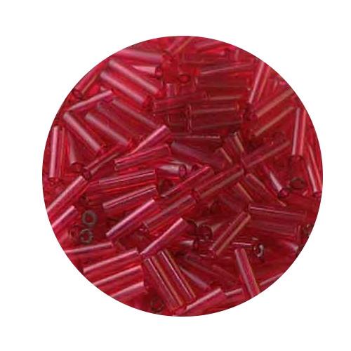 Miyuki-Stifte, 6mm, 10gr. Dose,transparent red
