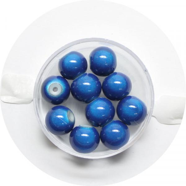 Miracle-Beads Glasperlen, 10 Stck., 10mm, blau