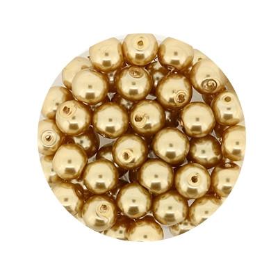 Pearl Renaissance, 6mm, 55 Stück, braun
