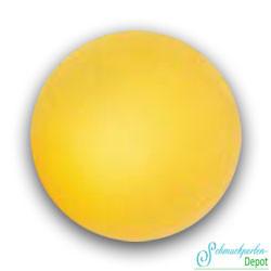 Polaris Rundperlen, 14mm, gelb