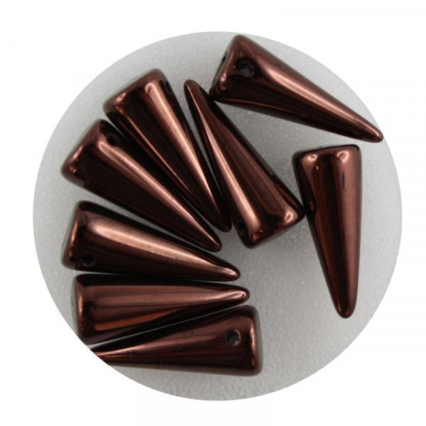Spike Beads,7x17mm,8 Stück,kupfer