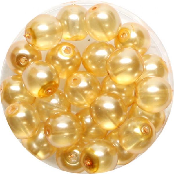 Crystal Pearl Renaissance, 8mm, 25 Stück, beige