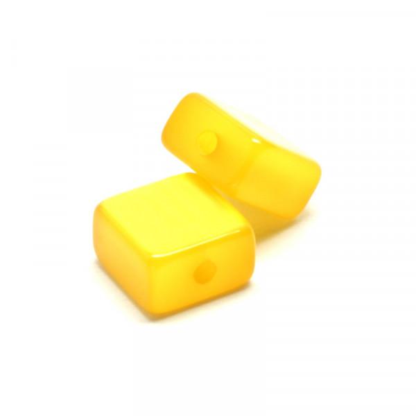 Polaris Viereck, 10x10mm, gelb