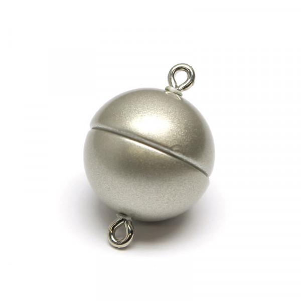 Power-Magnetverschluss, 15 mm, edelstahl matt