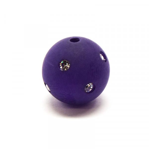 Polaris Strassperlen, 10mm, aubergine