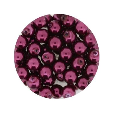 Pearl Renaissance, 6mm, 55 Stück, rot