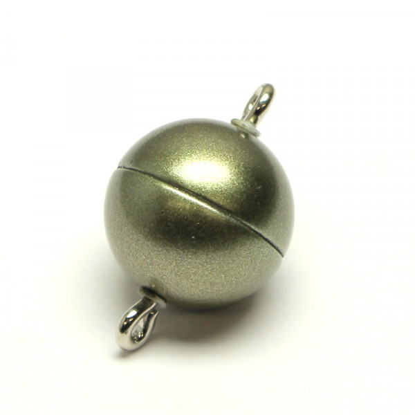 Magnetverschluss, 10mm, oliv