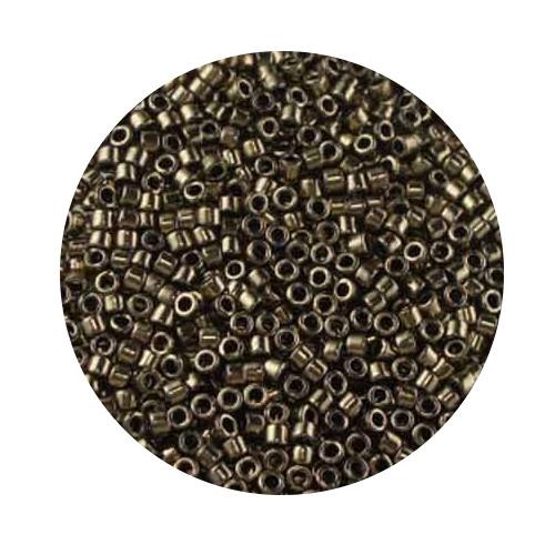 Miyuki Delicas, 11/0 (2,0mm), 5gr. Dose,dark bronze