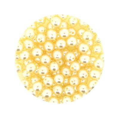 Pearl Renaissance, 4mm, 100 Stück, hell apricot