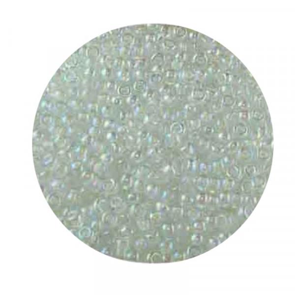 Miyuki Rocailles 2,2 mm - col. inside white rainbow
