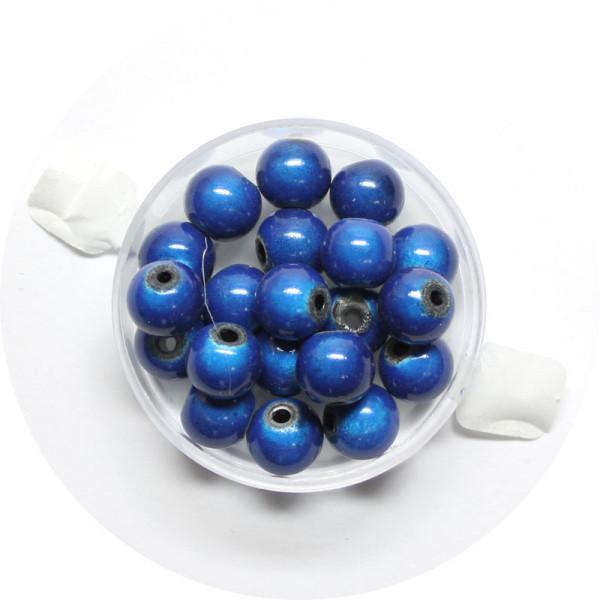 Miracle-Beads Glasperlen, 20 Stck., 8mm, blau