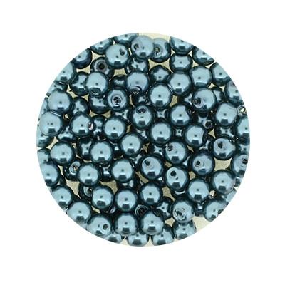 Pearl Renaissance, 4mm, 100 Stück, erinite grün