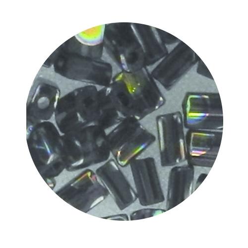 Glasperle, Rechteck, 5 mm, 7gr. Dose, amethyst