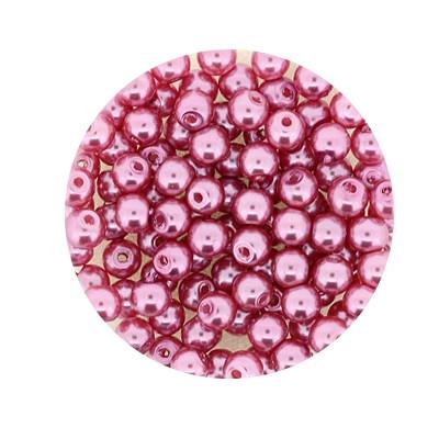 Pearl Renaissance, 4mm, 100 Stück, rosa